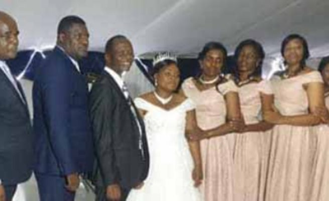 AFM leader whose wife died in August pulls a shocker, marries church  secretary | My Zimbabwe News